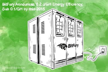 BitFury Claims 0.2 J/GH Energy Efficiency, Plans sub-0.1 J/GH by Mid-2015