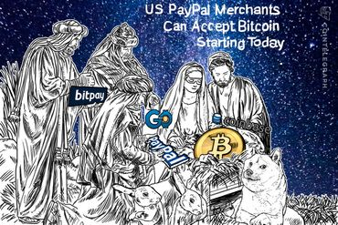 US PayPal Merchants Can Accept Bitcoin Starting Today