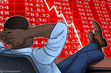 I mercati continuano a vedere cali, il BTC scende sotto quota 10.000$