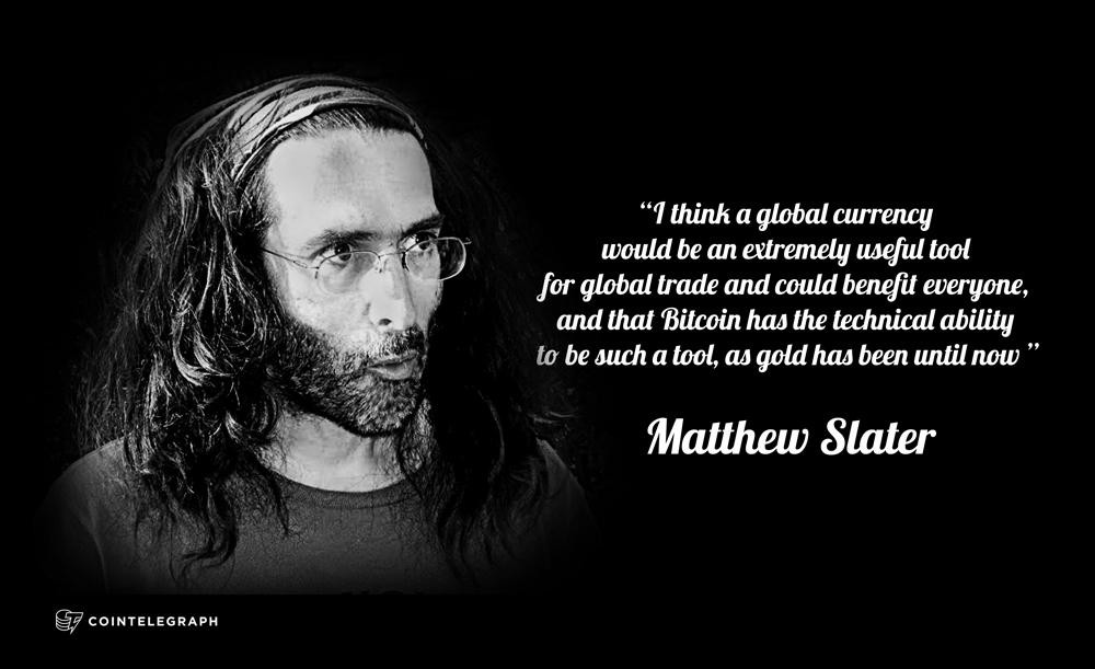 Interview: Community currency engineer Matthew Slater