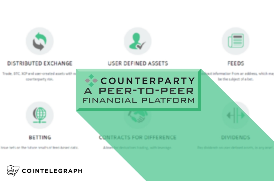 Counterparty to Create First Peer-to-Peer Digital Asset Exchange Platform