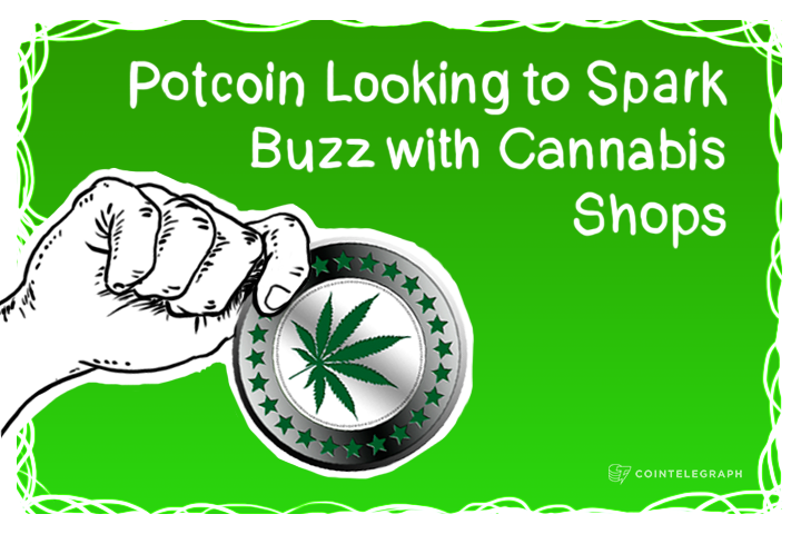 Colorado: Potcoin Looking to Spark Buzz with Cannabis Shops