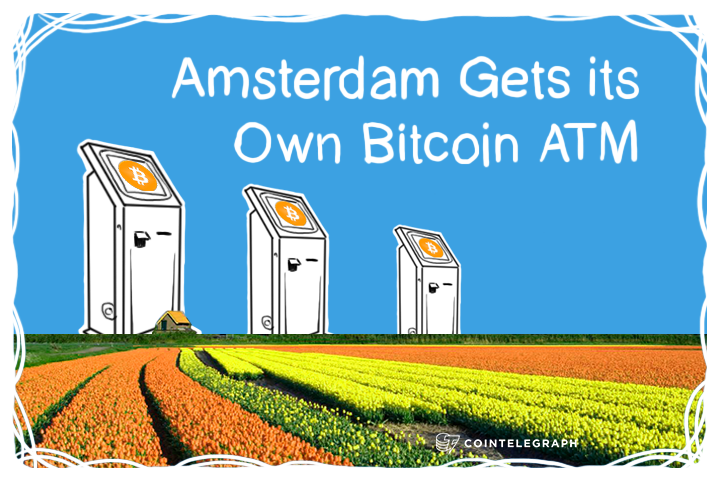Amsterdam Gets its Own Bitcoin ATM