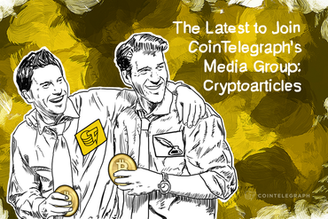The Latest to Join Cointelegraph's Media Group: Cryptoarticles