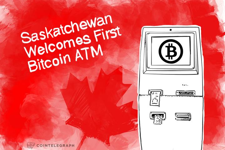 Saskatchewan Welcomes First Bitcoin ATM