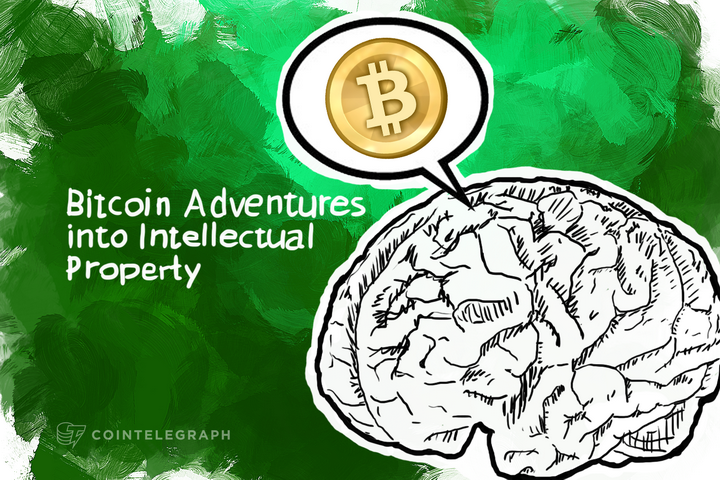 Bitcoin Adventures into Intellectual Property