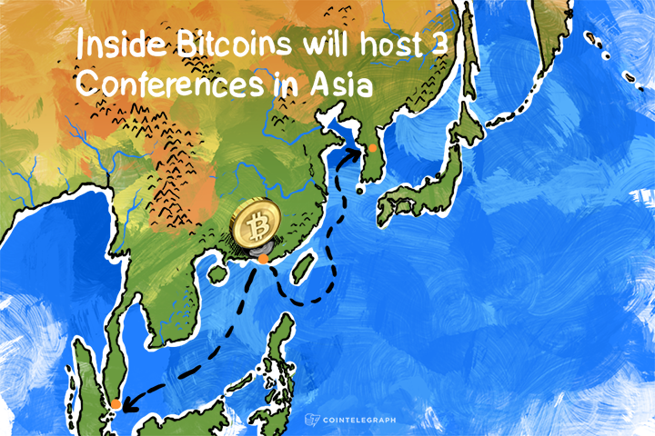 Inside Bitcoins will host 3 Conferences in Asia