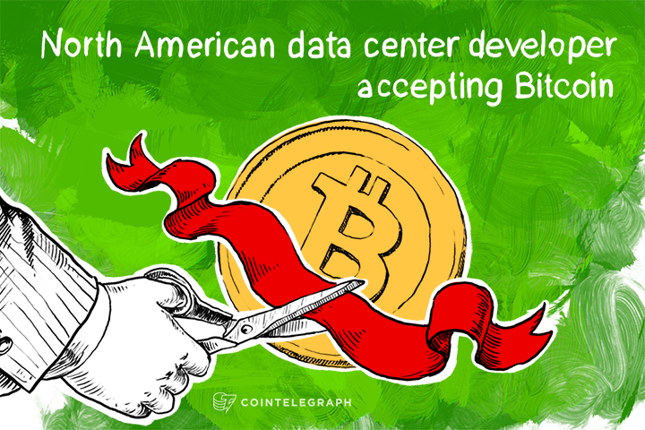 North American data center developer accepting Bitcoin