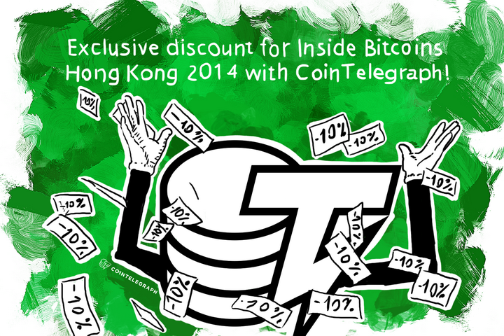 Exclusive discount for Inside Bitcoins Hong Kong 2014 with Cointelegraph!