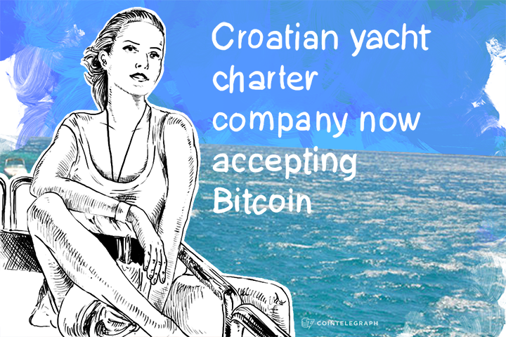 Croatian yacht charter company now accepting Bitcoin