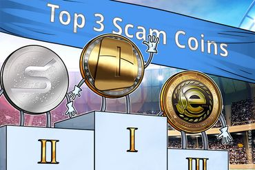 OneCoin Leads Top 3 Scam Coins List, S-Coin, EarthCoin Follow