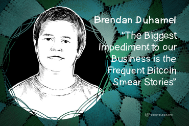 """The Biggest Impediment to our Business is the Frequent Bitcoin Smear Stories"" - Brendan Duhamel, Cisonius"