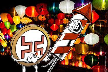 El precio de Bitcoin rebota $400 en minutos mientras que China da a Huobi y Okcoin un mes adicional
