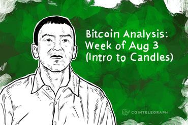Bitcoin Analysis: Week of Aug 3 (Intro to Candles)