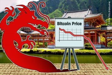 China Warns Bitcoin Users, Panic Sellers Drive Bitcoin Price Down 21 Percent