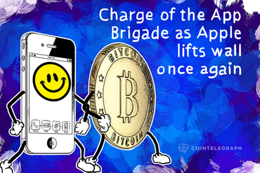 Charge of the App Brigade as Apple lifts wall once again