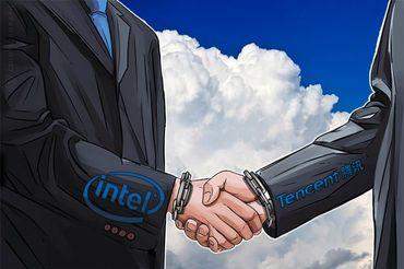 IntelとTencentが提携―IoTを活用したブロックチェーンソリューション開発を強化