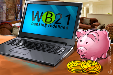 Digital Bank, Digital Money: WB21 Starts Accepting Bitcoin