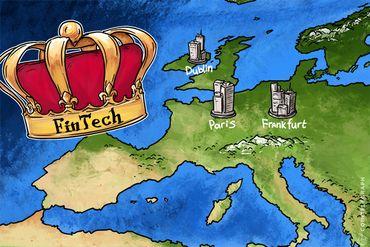 London's Fintech Crown Up For Grabs After Brexit As Dublin, Paris, Frankfurt Cajole Bankers