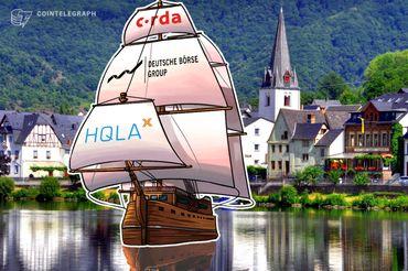 Câmbio da Alemanha Deutsche Börse Group faz parceria com HQLAx para plataforma Blockchain