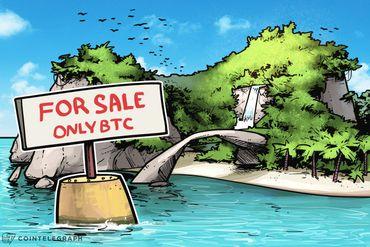 Un pedazo de paraíso caribeño a la venta solo con Bitcoin