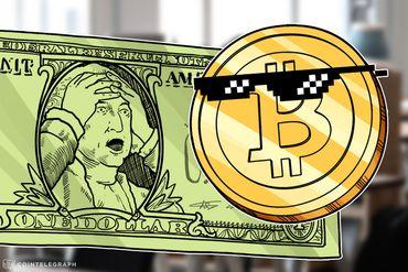 Keiser: Dólar colapsando contra Bitcoin