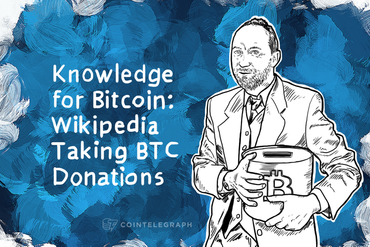 Knowledge for Bitcoin: Wikipedia Taking BTC Donations