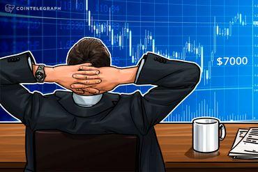 Bitcoin sotto quota 7.000$, mercati delle criptovalute in discreto ribasso