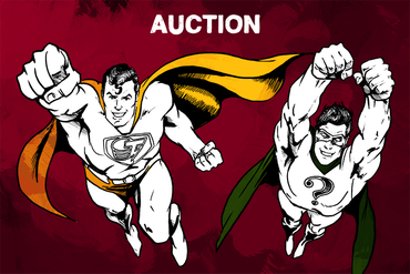 The first Anniversary Auction
