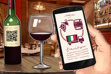 Italian Wines Will Be Recorded on Blockchain, Authenticity Guaranteed