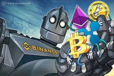 ビットコインが下落、金融庁がバイナンスに警告の報道受け