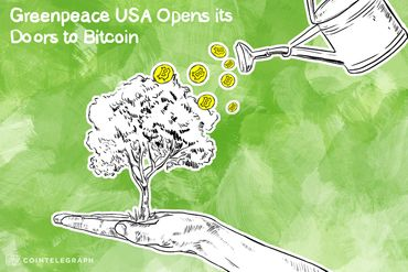 Greenpeace USA Opening Its Doors To Bitcoin