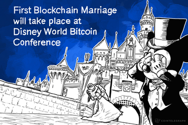 First Blockchain marriage will take place at Disney World Bitcoin Conference