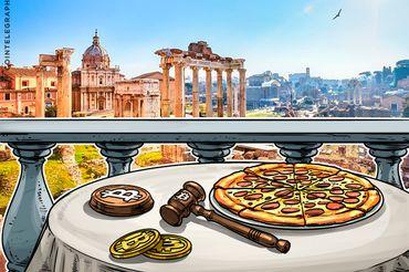 Bitcoin sob o martelo na Itália: Leilões e cripto