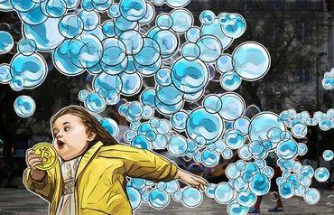 ゴールドマンサックスCIO 仮想通貨バブル崩壊でも世界経済に影響せず