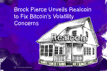 Brock Pierce Unveils Realcoin to Fix Bitcoin's Volatility Concerns