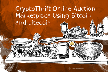 CryptoThrift Online Auction Marketplace Using Bitcoin and Litecoin