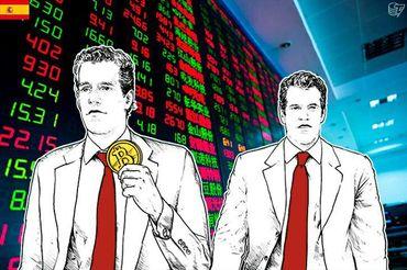 Los gemelos Winklevoss están cerca de introducir a Bitcoin en la bolsa de valores