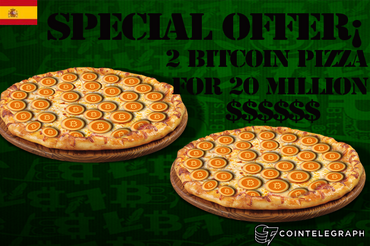 22 de mayo, el bitcoin pizza day