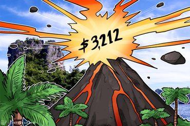ビットコイン価格がついに3,212ドルに―その要因とは