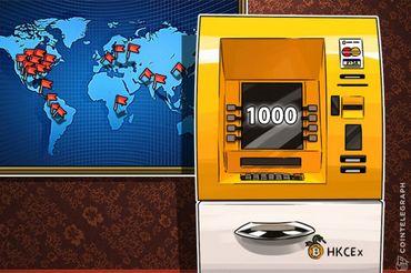 Još jedan rekord: Preko 1000 bitkoin ATM-ova je postavljeno širom sveta