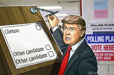 トランプ氏がアメリカ大統領選は不正に操作されていると糾弾―ブロックチェーンによる解決策とは