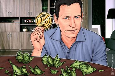 トランプ氏とも繋がりのある億万長者、Peter Thiel氏曰く―ビットコインはフィアットを脅かす存在であり、税務当局が暗号を解読することは不可能