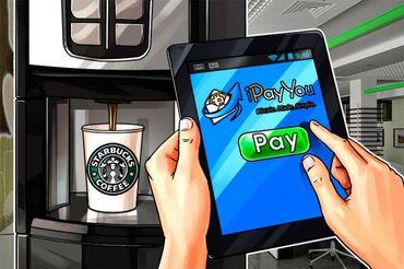 スターバックスがiPayYouと提携―スターバックスのアプリでビットコイン決済が可能に