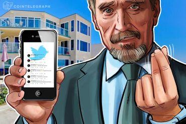 Džon MekAfi naplaćuje 105.000 dolara po tvitu za promociju projekata vezanih za kriptovalute