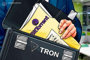 トロン、P2Pファイル共有のビットトレント買収を正式発表