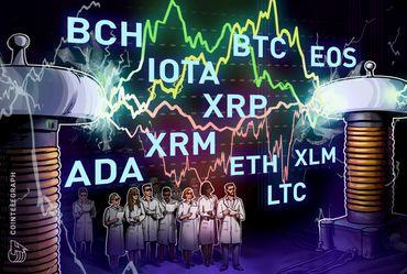 Bitcoin, Ethereum, Ripple, Bitcoin Cash, EOS, Stellar, Litecoin, Cardano, Monero, IOTA: Análise de preços, 31 de agosto