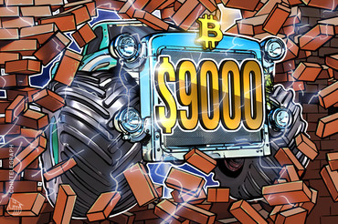 BTC Tops $9,000, Recovery Leaves Stock Market in the Dust