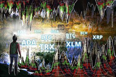 Bitcoin, Ethereum, Ripple, Bitcoin Cash, EOS, Litecoin, Cardano, Stellar, IOTA, TRON: Analisi dei prezzi, 3 agosto