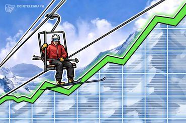 Kryptomärkte reiten moderate Wachstums-Welle nach langer Stabilitätsphase